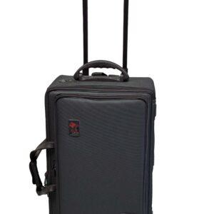 Gig Bag für 4 Trompeten, Trolley, Cordura
