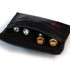 Mouthpiece pouch for 4 mouthpieces